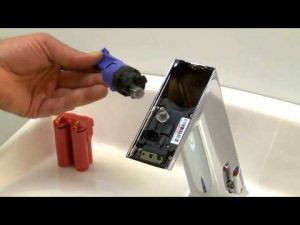 How To Replace Batteries In A Touchless Kitchen Sink Faucet