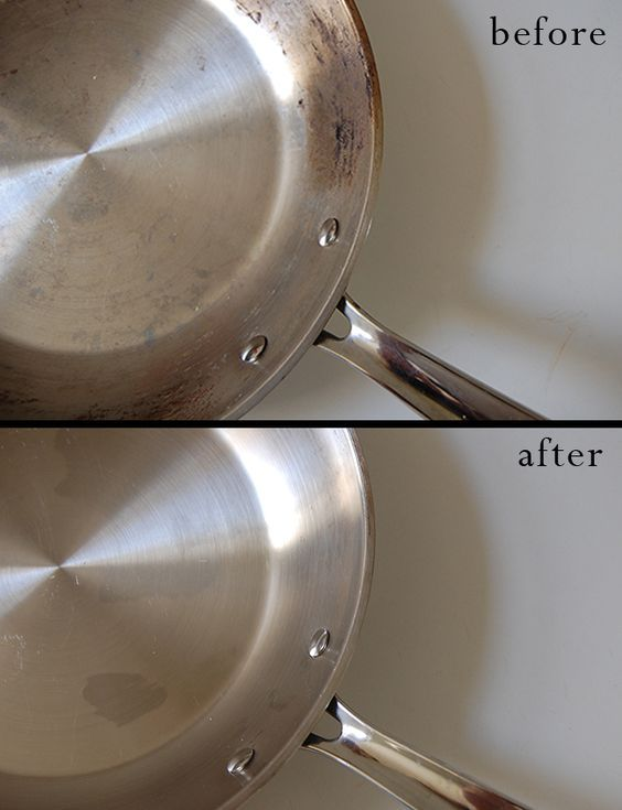 How to Clean Burnt Stainless Steel Pots and Pans