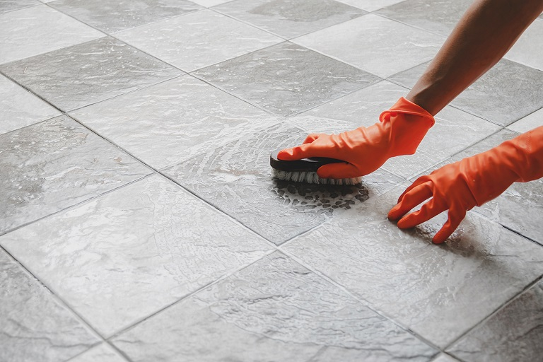 Prepare the Area for Grouting