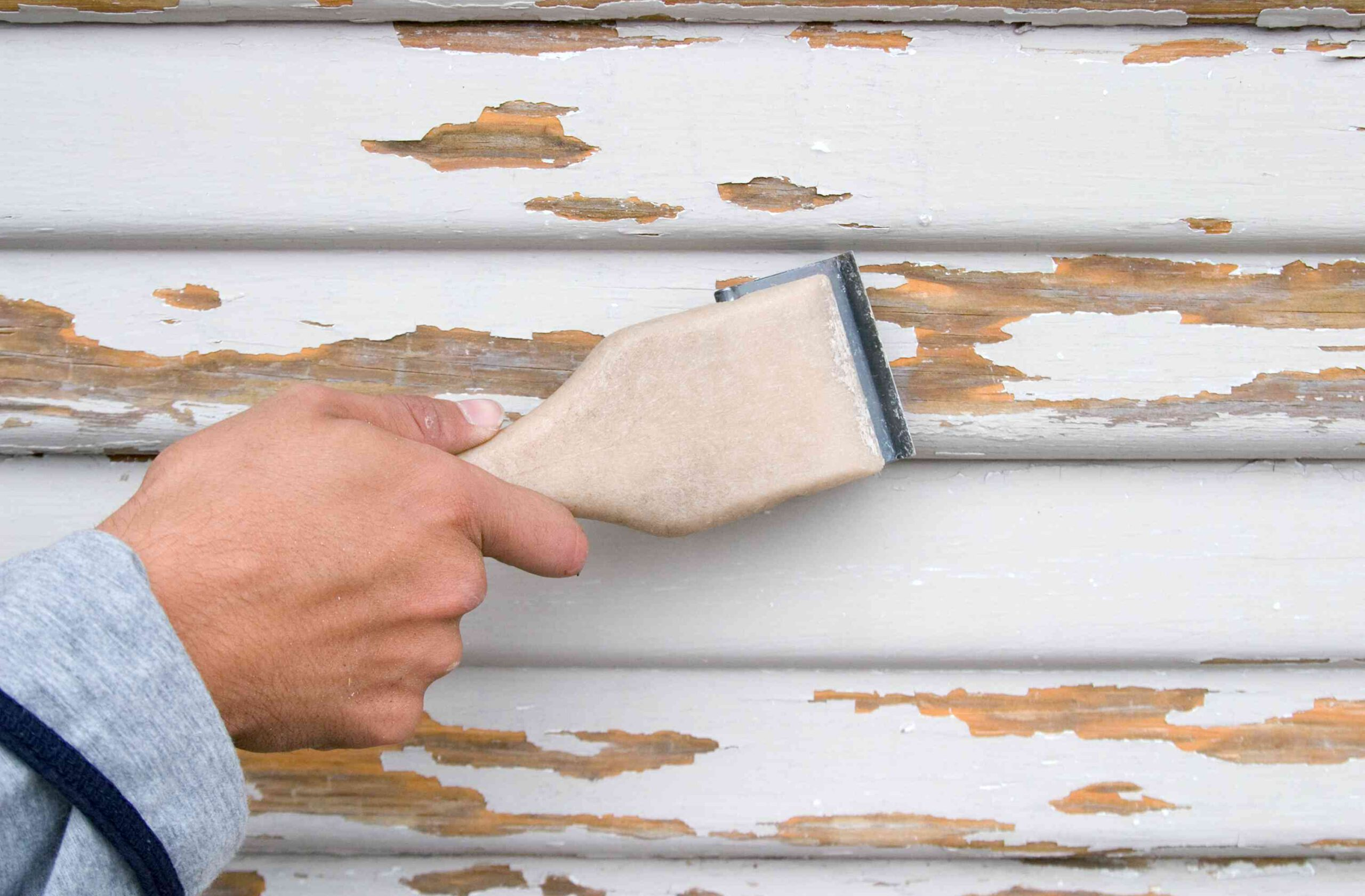 Get Rip of Chipped and Flaking Paint